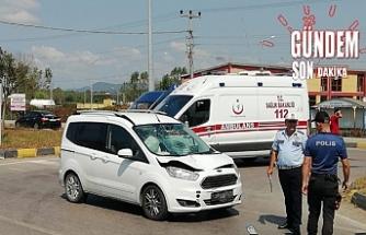 Araba çarptı hayatını kaybetti!..