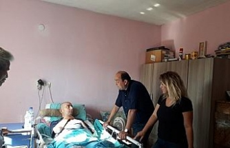 Başkan Demirtaş, Arslan ailesini sahipsiz bırakmadı