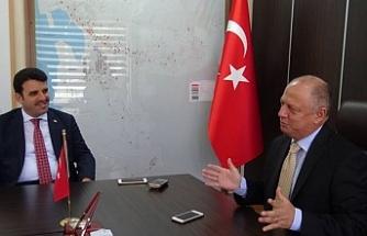 Çakır'dan Çorumluoğlu'na 'hayırlı olsun' ziyareti