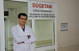 Düzce Üniversitesi geleneksel ve tamamlayıcı tıp polikliniği hasta kabulüne başladı