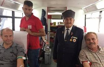 Gazilerden Kan bağışı kampanyası!..