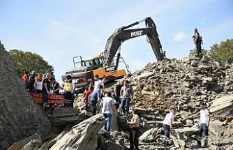 Hastane inşaatında göçük: 1 işçi öldü