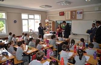 Safranbolu'da 2018-2019 eğitim öğretim yılı ilk ders zili çaldı