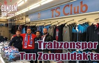 Trabzonspor tırı Zonguldak'ta