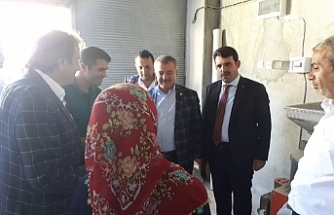 Türkmen, ata tohumunu geliştirmeye çalışan aileyi kutladı…