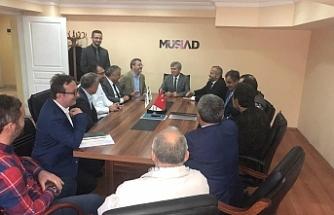 Vali Çınar'dan MÜSİAD'a ziyaret
