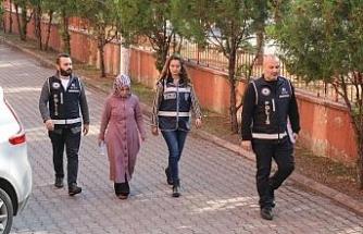 FETÖ şüphelisi kadın Erzurum'da yakalandı