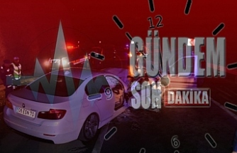 İki otomobil çarpıştı; 2 ölü, 5 yaralı