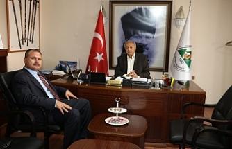 Kaymakam Polat'tan Başkan Semerci'ye ziyaret