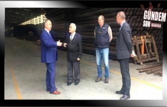 Başkan Keleş, bu kez Kaymakam Çorumluoğlu ile ziyaret etti