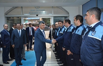 Vali Bektaş, Ereğli Belediyesi'nde...