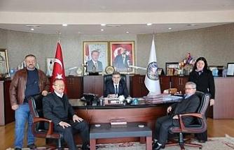 Engelliler Başkan Yemeniciyi ziyaret etti
