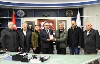 KSS yönetiminden Başkan Ay'a ziyaret