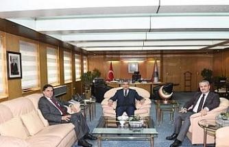 Milletvekili Güneş ve Ünal Emniyet Genel Müdürünü ziyaret etti