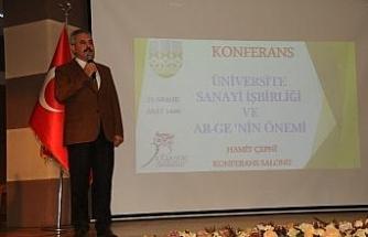 """""""Üniversite Sanayi İşbirliğinde ARGE nin önemi"""" paneli"""