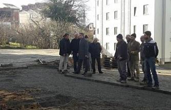 Başkan Yemenici, çalışmaları yerinde inceledi