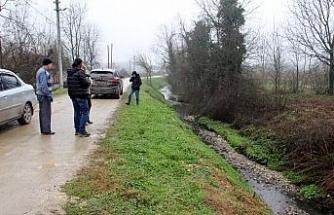 Düzce'de gece yayılan koku nedeniyle köy halkı tedirgin