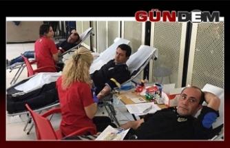 Emniyet personeli kan verecek!..