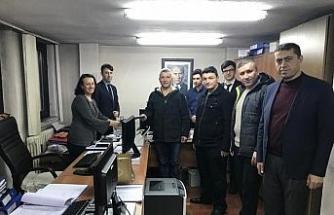 GMİS Üzülmez Şube yönetimi görevine başladı