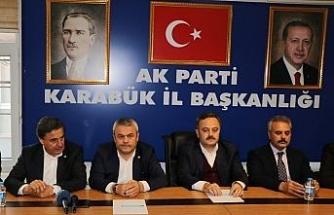 AK Parti İl Başkanı Altınöz gündemi değerlendirdi