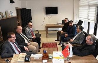 Başkan Vergili'den İl Kültür Müdürlüğü'ne Ziyaret