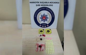 Düzce'de 3 uyuşturucu taciri tutuklandı