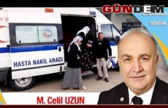 """Hasta Nakil Ambulansı Hizmeti 24 saat hizmet verecek"""