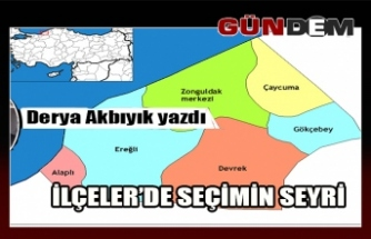İLÇELER'DE SEÇİMİN SEYRİ