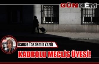 KADROLU MECLİS ÜYESİ!