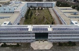 KBÜ kendi elektriğini güneş panelleri ile üretiyor