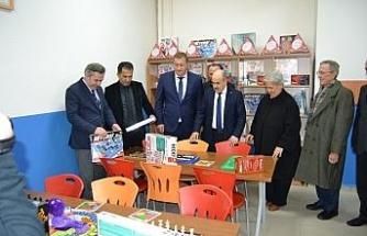 Şehit Ufuk Baysan İlkokulu akıl ve zeka oyunları sınıfı açıldı
