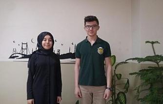 Yeniceli öğrenciler  TÜBİTAK yarışmasında  Karabük'ü temsil edecek