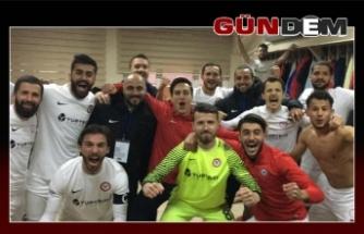 Zonguldakspor 3 puanı kaptı!