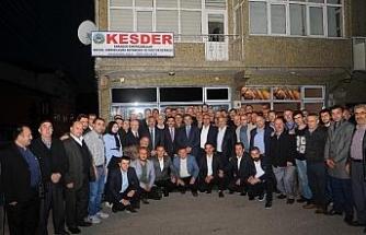AK Parti Adayı Uysal, KESDER'den destek istedi