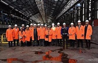 Çelik Dış Ticaret Derneğinden KARDEMİR'e çıkarma