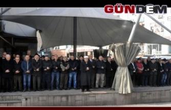 Gıyabi cenaze namazı kılındı