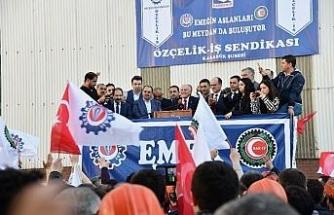 KARDEMİR'de TİS sözleşmesinde işçiye rekor zam