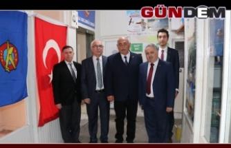 Şahin, Türk Hava Kurumu'nu ziyaret etti