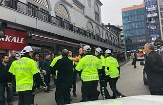 Trafik kavgası: 1 kişi gözaltına alındı