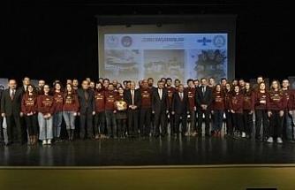 Türkiye'nin gururu Grizu-263 Uzay Takımı ABD yolcusu