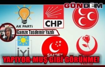 YAPIYOR-MUŞ GİBİ GÖRÜNME!