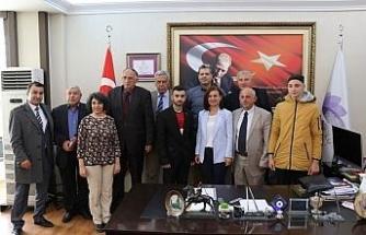 Başkan Köse Kardeş Şehir Skydra'nın delegasyonları ile bir araya geldi