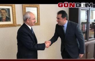 Demirtaş'tan Kılıçdaroğlu'na geçmiş olsun ziyareti