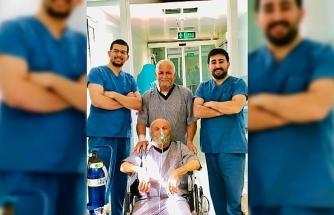 Hasta yakınlarından yardımseverlik örneği