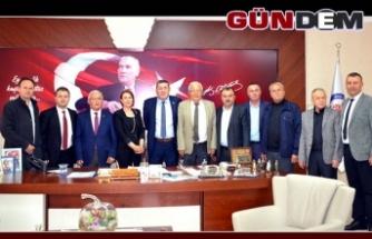 İKİ HALK ADAMI BİR ARAYA GELDİ..