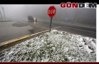 Kar yağışı etkili oluyor!..