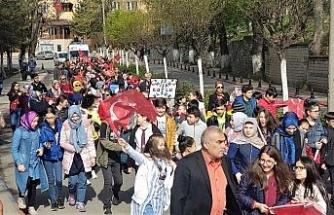 Karabük'te 23 Nisan düzenlenen törenle kutlandı