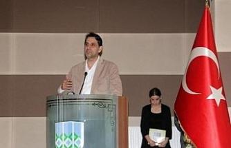 KBÜ'de 'Çanakkale Parion Antik Kenti' anlatıldı