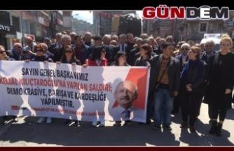 Kılıçdaroğlu'na yapılan saldırıyı kınadılar
