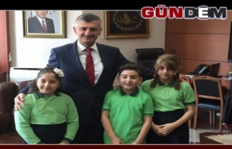 Miniklerden Vali Bektaş'a Ziyaret!..